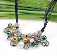 4x wunderschöne Ketten Perlen Mix
