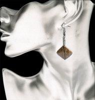 12 paar echt Stein Ohrhänger