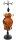 1 x eleganter Schmuckhalter aus Holz - braun