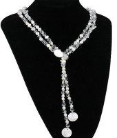1 x moderne Zuchtperlen Halskette 48 cm
