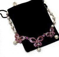 """Magnetische Collier Halsketten """"Schmetterling"""""""