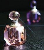 9 x verschiedene edle Glas Parfum Flacons