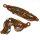 Trendy Rocailles Armband Oliv 19 x 4 cm