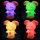 LED Stimmungslicht Nachtlicht mit Farbwechsel Hase