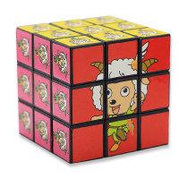 Zauberwürfel Cartoon für Kinder 5.5 x 5,5 cm