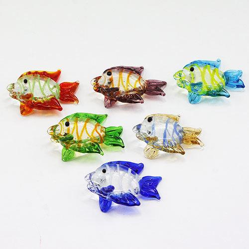 Lampwork Deko Glas Fische in Handarbeit hergestellt