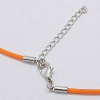 50 x Trendy Silikon-Halsbänder ca. 46 cm lang