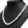 Echte Perlenkette mit 58 Perlen ca. 40 cm lang