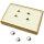 Schmuck - Ringdisplay ca. 22,5 x 14,5 x 3,6 cm
