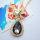 12x Exklusive Halskette mit  Anhänger im Facettenschliff - Kette ca. 60 cm
