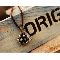 Glücksanhängerkette Sternenhimmel und der kleine Prinz - Kette ca. 60 cm