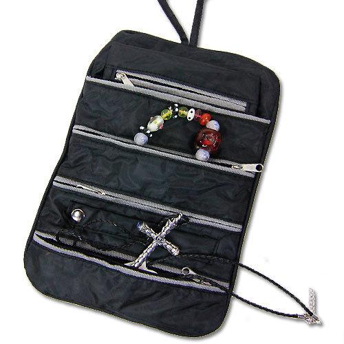 Reise-Schmucktasche schwarz