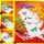 Malschablonen-Set mit Malblock und Filzstiften