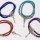 Armbänder Kunstleder in Kabeloptik in verschiedenen Farben
