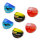Lampwork Glasringe Mix in tollen Farben sortiert