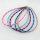 12 x hochwertige Stoff-Halsbänder gemustert ca. 46 cm + Verlängerungskette