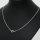 50 x filigrane versilberte Halsketten ca. 50 cm lang - SONDERPREIS -