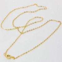 50 x filigrane vergoldene Halsketten ca. 50 cm lang - SONDERPREIS -