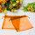100 x Organza Schmuck Beutel  Orange ca. 17 x 14 cm - Sonderpreis-