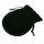 200 x Schmuckbeutel Geschenkbeutel schwarz Samt 7,5 x 7,0 cm