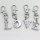 26 x Schlüsselanhänger Alphabet von A bis Z mit Zirkonia Steine verziert