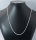 25 x hochwertige versilberte Halsketten ca. 46 cm lang