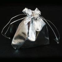 100 x schöne festliche Schmuckbeutel in silber ca....