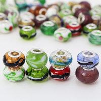100 x sehr schöne Lampwork Glasperlen - bunt - Sonderpreis -