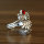 20 x 3 teiliges Schmuckset - 1 Ring + 2 Ohrringe - Motiv Eule - Sonderpreis
