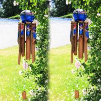 6 x KLANGSPIEL - WINDKLANGSPIEL - BAMBUS - ca. 55 cm -...