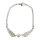 12x Armbänder Engelsflügel mit Perle ca. 21 cm lang - silberfarbig