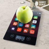 Black ikScale Digitale Küchenwaage